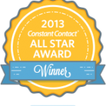 Won the 2013 All Star award from Constant Contact for Mr MaGoo's free newsletter