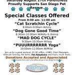 Carla Mae's pet adoption was scheduled