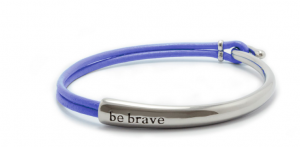 Bravelets bracelet give back to help fight cancer