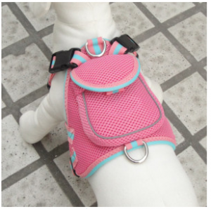 Pet Life Double-Ring Pet Harness With Reflective Strip