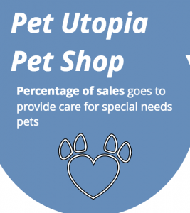 Pet Utopia Pet Shop is dedicated in helping pets with medical needs, with every purchase, proceeds go to help animals in need
