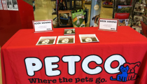 Book Signing at Petco, Chula Vista