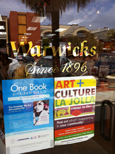 Warwicks book signing event