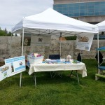 Booth at Woofstock in Prescott 2014