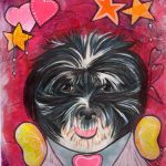 Farley handpainted by artist Nancy Buckenham