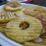 Dog Treat Grilled Pineapples