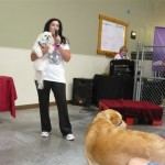 Kelly Preston guest speaker at Camp Bow Wow Peoria AZ fundraising event