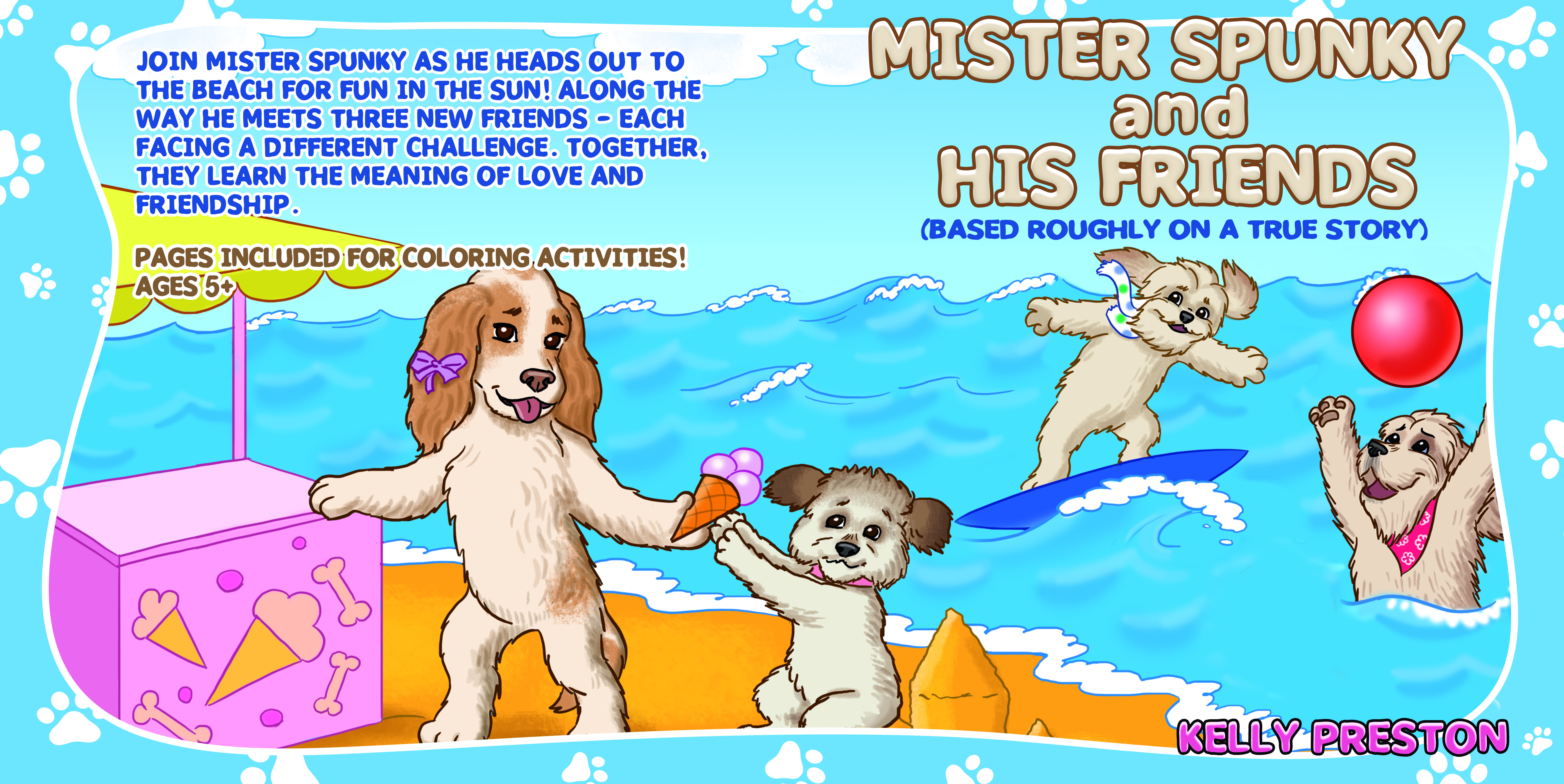 Mister Spunky and His Friends children's picture book