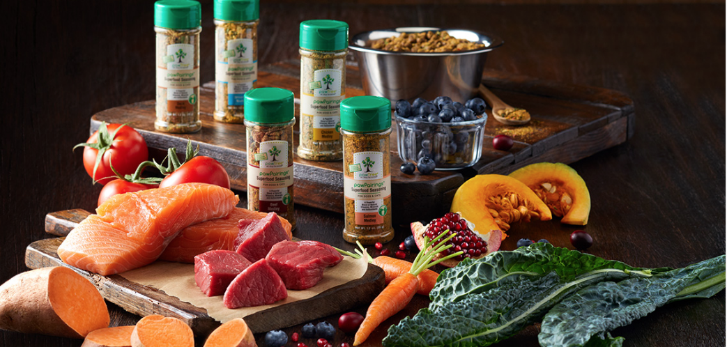 pawTree pet food super seasonings are loaded with antioxidants