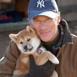 Richard Gere and dog