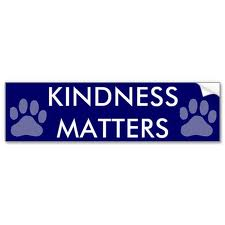 Paw prints to kindness
