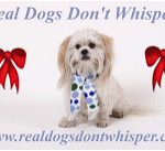 Real Dogs Don't Whisper holiday logo